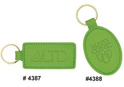 Bright Green Two Sided Key Tags